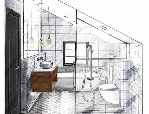 Come ricavare il secondo bagno da una grande camera